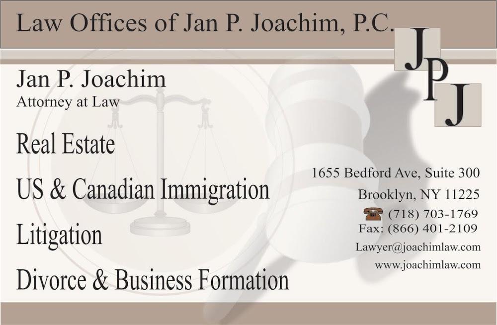 Law Offices of Jan P Joachim, P.C.